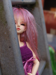 portret (spikelover trying to make the best of it) Tags: 14 bjd fairyland msd auriana minifee woosoo chrochetdressfrommjschrochetshop