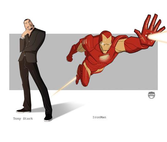Kizer,  Ironman - Tony Stark