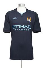 Manchester City Umbro 2010/11 Away Kit / Jersey