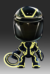 Tron Legacy Suit in LittleBigPlanet 2