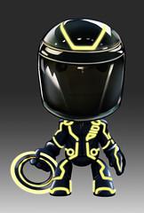 Tron Legacy Suit in LittleBigPlanet 2