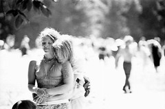 getting hitched tomorrow (cavale) Tags: family people blackandwhite bw love film hippies rainbowgathering america canon engagement rainbow hug couple grain marriage overexposed grainy canonae1 tmax400 allegheny humans rainbowfamily alleghenynationalforest nationalrainbowgathering rainbowgathering2010 rainbowhippies wearegettinghitchedtomorrow