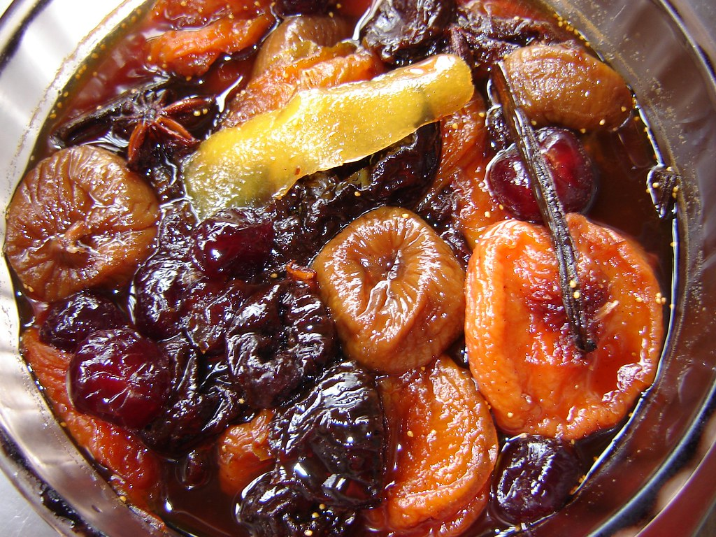 Dried Fruit Compote 1