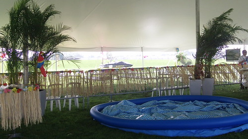 Brickyard Beach Bash Set Up Day 3
