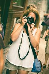 angela - in her style (Justinvl) Tags: angle crumpler 7d photowalk process angela tilt awesomeness shortshorts greentint