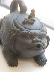 P7240204 (Ant Ware) Tags: art ceramic ceramics hand handmade made clay pottery teapot yixing risha