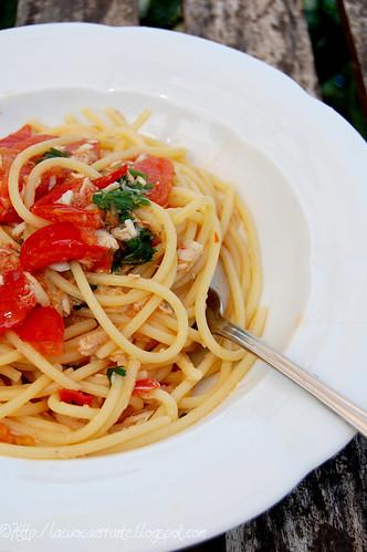 Spaghetti alla spigola