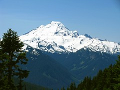 Mount Baker from Winchester LO trail