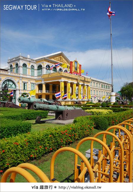 【泰國自由行】曼谷玩什麼?Segway塞格威帶你漫遊~16