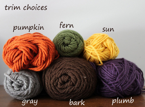 yarn trim choices2 by you.