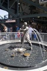 20100725_Seattle_092 (falconn67) Tags: seattle travel boy vacation sports fountain statue boston washington baseball stadium redsox mariners safeco safecofield mlb batter 30d