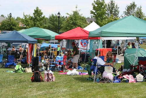 7/31/10 - Divisionals Tent City