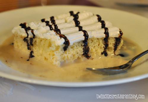 Tres Leches Cake @ Casa Chapala ~ Austin, TX