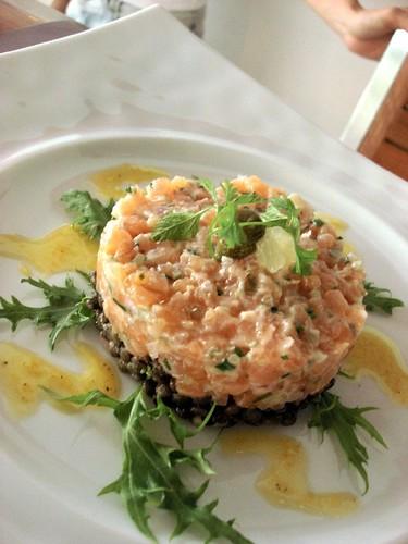 nathalie gourmet studio - salmon tartar