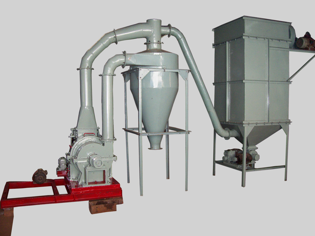 Pulveriser with Pulse-Jet Dust Collector
