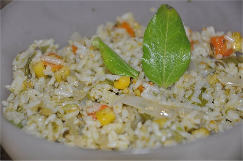 Pesto Vegetables Rice @ Mharo Rajasthan's Recipes