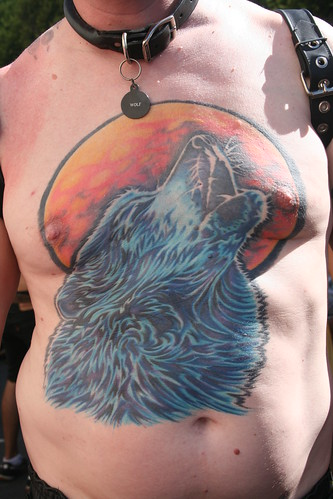 Pathway · Entrance · Howling Wolf Tattoo
