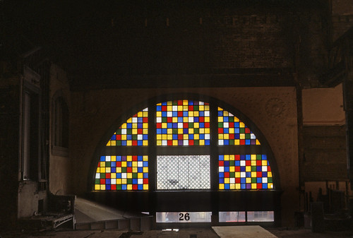 Exeter Street Theatre Stained Glass 1984