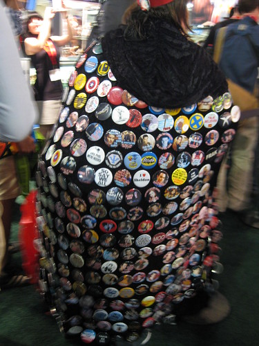 A cape of buttons
