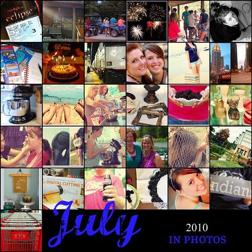 July 2010 365 Mosaic
