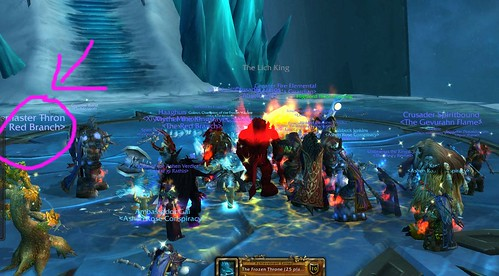 Thron and Cobra killing the lich king