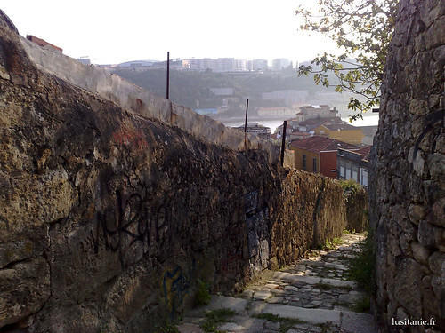 Ao fundo, o rio Douro