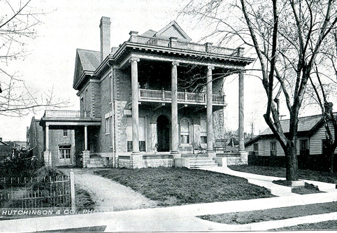 August Michaelis' home in 1902.