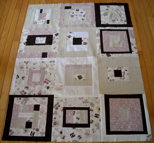 quilt top for KCMQG charity project