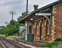 Historic Mt. Clemens Train Station