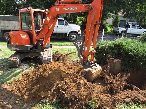 orange kubota excavator IMG_0416