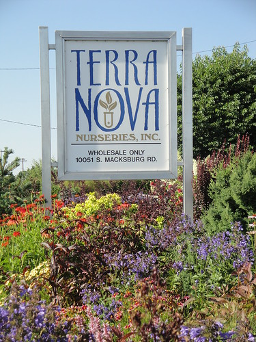Terra Nova Nurseries Sign