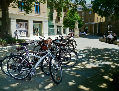 bicycles at saatchi gallery
