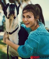 Victoria Justice (I POST RANDOM PICTURES) Tags: hot girl justice pretty famous victoria teen vogue facebook nickelodeon teenvogue twitter ijustice