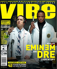 EMINEM & DR DRE VIBE MAGAZINE JUICE ISSUE COVER