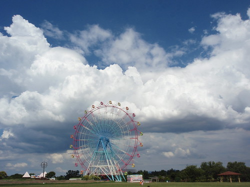 gorgeous summer sky