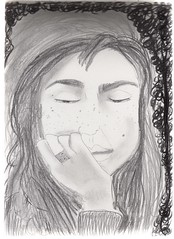 AbriendolosOjos (Me sueo los dedos) Tags: girl marina lost chica thoughtful loureed brunette thevelvetunderground perdida morocha openyoureyes pensadora marinamangieri