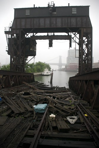 View to the Williamsburg Bridge
