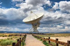 VLA Radio Antenna (tj.blackwell) Tags: travel vacation newmexico radio landscape technology background space radiation science observatory telescope astronomy scanning microwave universe seti cosmic vla antennas radiodish verylargearray frequencies radioastronomy nrao sorocco plainsofsanagustin vlatelescope expandedverylargearray argusarray beaconinternationalproject