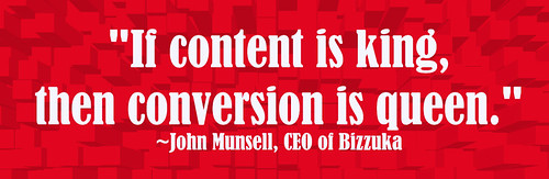 Content is King, Conversion is Queen