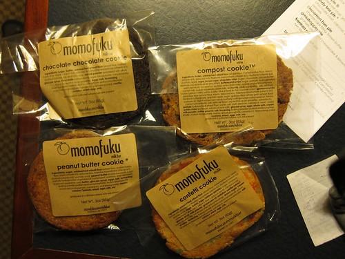 Cookies from momofuku