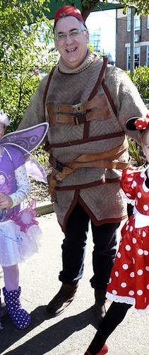 Pakled with a fairy and Mini Minnie Mouse