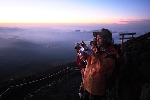 Yama at Mt Fujiyama