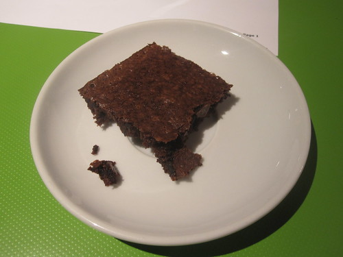 Brownie from the bistro - free