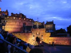 DSCN3187 (lexylife) Tags: people history scotland lowlight edinburgh edinburghcastle dusk eventsandfestivals edinburghmilitarytatoo castlesandbuildings