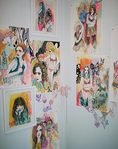 kime's wall