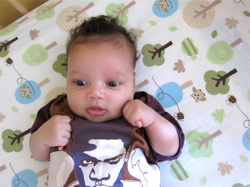 Boxing Basquiat Baby Onesie