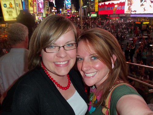 times square with my BFF. yes.