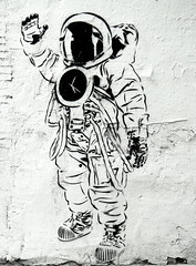 simple astronaut stencil - photo #14