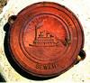 Paddlewheel manhole cover