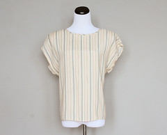 pale stripes blouse